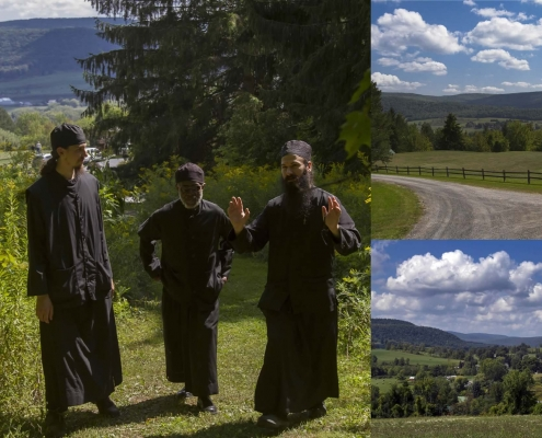 Photo showing our new monastery in Cobleskill before renovation