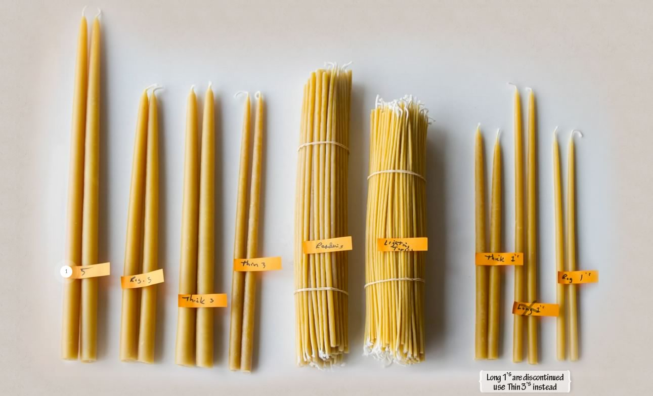 Saint John of San Francisco Monastery Store for Colored Beeswax Candles  588gtk