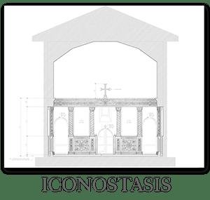 New church design - Iconostasis