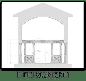 New church design - Liti screen