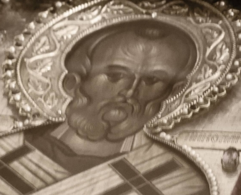 Saint Nicholas Myrrh Streaming Icon