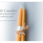 Pure Beeswax Gift Candles - 11 inch & 14 inch